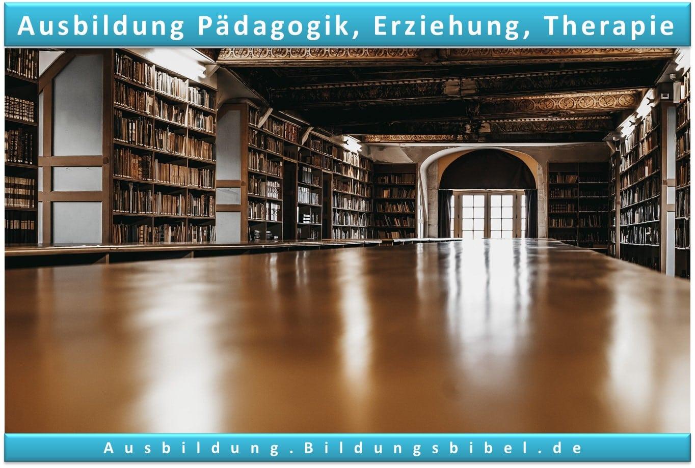 Die Ausbildung in der Pädagogik, Erziehung oder Therapie Voraussetzungen, Inhalte, Gehalt, Dauer sowie Zukunft zum Ausbildungsberuf